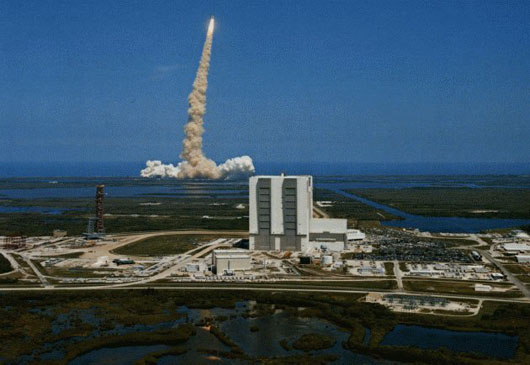 Launch from Cape Canaveral